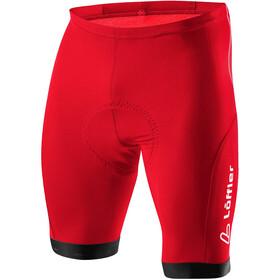 Löffler Hotbond Spodnie rowerowe Mężczyźni czerwony